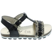 Chaussures Fille Sandales et Nu-pieds Bopy ECHALOTTE Noir