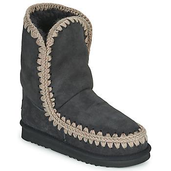 Chaussures Femme Boots Mou ESKIMO 24 Noir