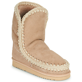 Chaussures Femme Boots Mou ESKIMO 24 Beige