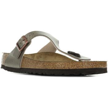 Chaussures Femme Tongs Birkenstock Gizeh Bs dore