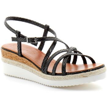Chaussures Femme Sandales et Nu-pieds Porronet fi2596 Noir