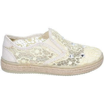 Chaussures Fille Slip ons Asso slip on textile beige