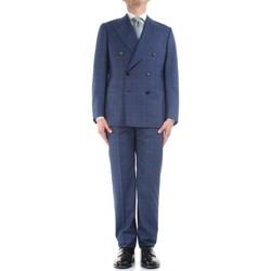 Vêtements Homme Costumes  Cesare Attolini S20WA30 B12 bleu