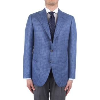 Vêtements Homme Vestes / Blazers Cesare Attolini S20MA43 bleu