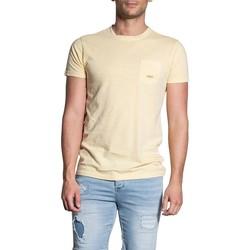 Vêtements Homme T-shirts manches courtes Deeluxe T-Shirt MAITAI Light Yellow