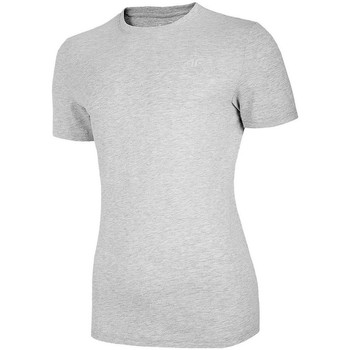 Vêtements Femme T-shirts manches courtes 4F TSM003 Gris