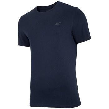 Vêtements Homme T-shirts manches courtes 4F TSM003 Noir