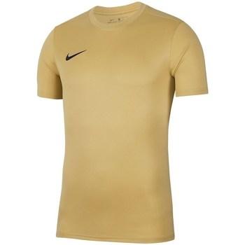 Vêtements Homme T-shirts manches courtes Nike Dry Park Vii Jsy Jaune