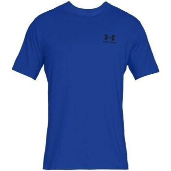 Vêtements Homme T-shirts manches courtes Under Armour Sportstyle Left Chest Bleu