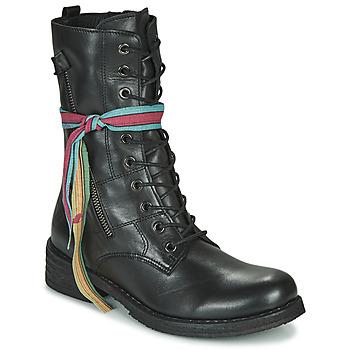 Chaussures Femme Boots Felmini COOPER Noir