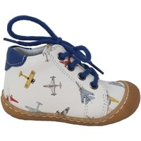 Chaussures Garçon Baskets montantes Bellamy CHAUSSURES  ELIOT Blanc