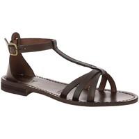 Chaussures Femme Sandales et Nu-pieds Iota 94 MARRON