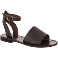 Chaussures Femme Sandales et Nu-pieds Iota URSULA MARRON
