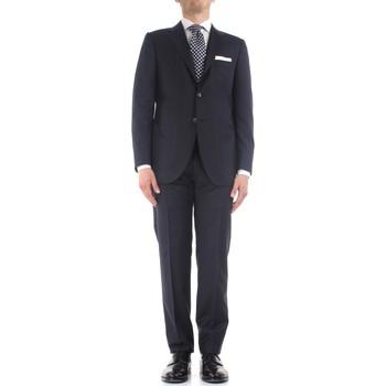 Vêtements Homme Costumes  Kiton K06S12/36 bleu