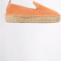 Chaussures Homme Espadrilles Cala SLIPON DOUBLELEATHER Orange
