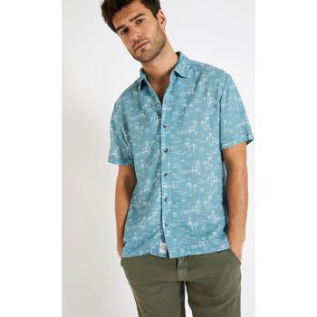Vêtements Homme Chemises manches courtes Cala STEFANO MASCIOLA BLEU