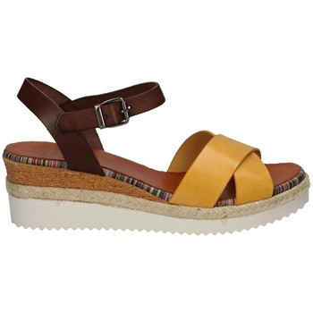 Chaussures Femme Sandales et Nu-pieds Porronet FI2549 JAUNE