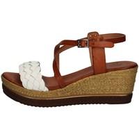 Chaussures Femme Sandales et Nu-pieds Porronet FI2541 BLANC