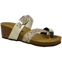Chaussures Femme Mules La Maison De L'espadrille 3573 doré