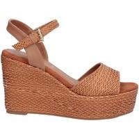 Chaussures Femme Sandales et Nu-pieds Sara Lopez SLZDSCSA0036 Sandales Femme chameau chameau