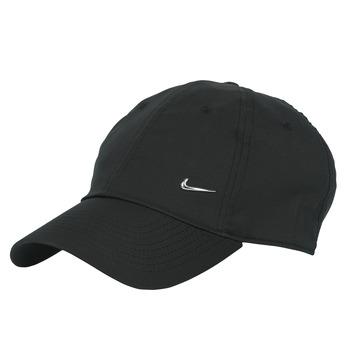 Accessoires textile Casquettes Nike U NSW H86 METAL SWOOSH CAP Noir / Argenté