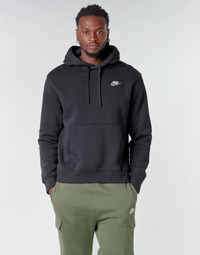 Vêtements Homme Sweats Nike M NSW CLUB HOODIE PO BB Noir / Blanc