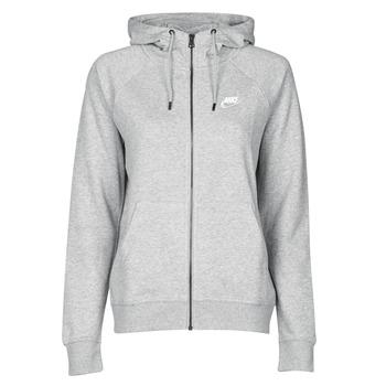 Vêtements Femme Sweats Nike W NSW ESSNTL HOODIE FZ FLC Gris