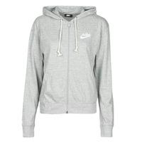 Vêtements Femme Sweats Nike W NSW GYM VNTG HOODIE FZ Gris