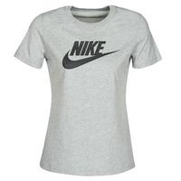 Vêtements Femme T-shirts manches courtes Nike W NSW TEE ESSNTL ICON FUTUR Gris
