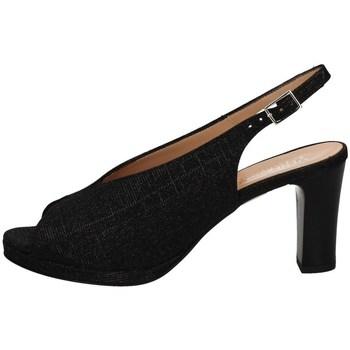 Chaussures Femme Sandales et Nu-pieds Soffice Sogno E20082 NOIR
