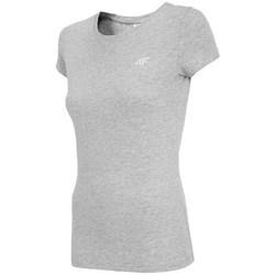 Vêtements Femme T-shirts manches courtes 4F TSD001 Gris