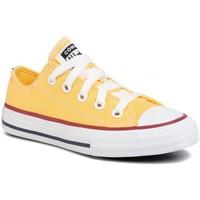 Chaussures Enfant Baskets basses Converse chuck taylor ox e 20 jaune