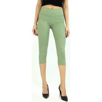 Vêtements Femme Pantacourts Kebello Jean pantacourt F Vert Vert
