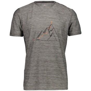 Vêtements Homme T-shirts manches courtes Cmp M TSHIRT GRIGIO M ANTHRACITE HOMME 2020 Unicolor