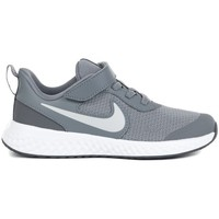Chaussures Enfant Running / trail Nike Revolution 5 Psv Blanc,Gris