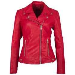 Vêtements Femme Vestes en cuir / synthétiques Deercraft SHELLA LNV RED Rouge