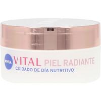 Beauté Femme Hydratants & nourrissants Nivea Vital Radiante Cuidado Día Nutritivo