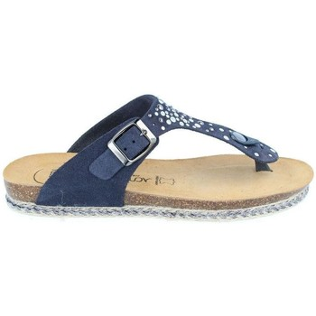 Chaussures Femme Tongs Amoa Sandales Gaujac à enfiler MARINE
