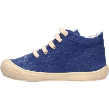 Chaussures Garçon Baskets mode Naturino - Polacchino jeans COCOON-0C06 BLU
