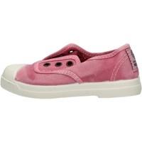 Chaussures Garçon Baskets mode Natural World - Scarpa elast rosa 470E-603 ROSA