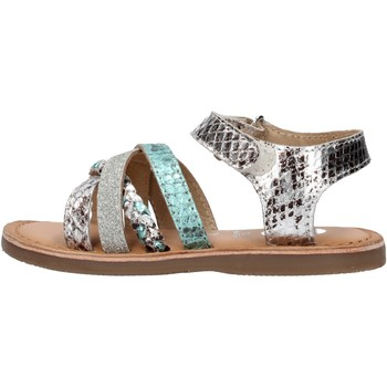 Chaussures Garçon Chaussures aquatiques Gioseppo - Sandalo argento PATNA ARGENTO