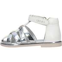 Chaussures Garçon Chaussures aquatiques Liu Jo - Sandalo bianco SCILLA 604 BIANCO