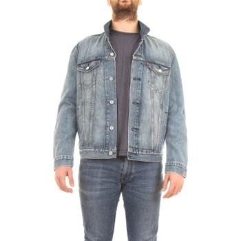 Vêtements Homme Vestes / Blazers Levi's 723340351 Veste homme Bleu moyen Bleu moyen