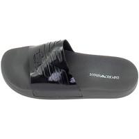 Chaussures Homme Claquettes Ea7 Emporio Armani Sandale EA7 Noir