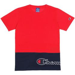 Vêtements Enfant T-shirts manches courtes Champion Tee-shirt Rouge