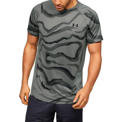 Vêtements Homme T-shirts manches courtes Under Armour Tee-shirt Under Noir