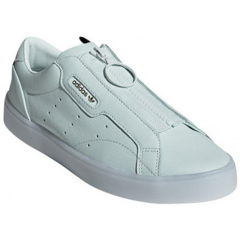 Chaussures Femme Slip ons adidas Originals Basket  SLEEK Z Bleu