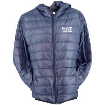 Vêtements Homme Doudounes Ea7 Emporio Armani Doudoune EA7 Bleu