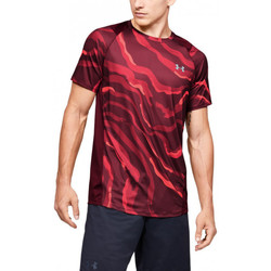 Vêtements Homme T-shirts manches courtes Under Armour Tee-shirt Under Bordeaux