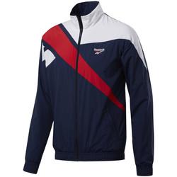 Vêtements Homme Vestes de survêtement Reebok Sport Veste de Bleu